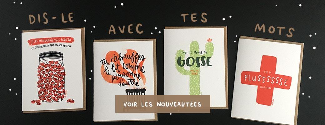 Cartes d'amour 2018 Darveelicious