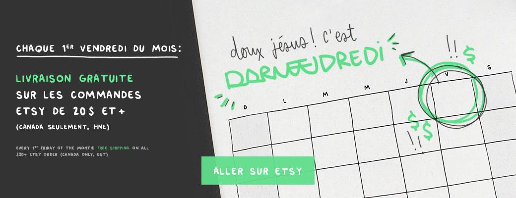 DARVEEDREDI - livraison gratuite les premiers vendredis sur Darveelicious