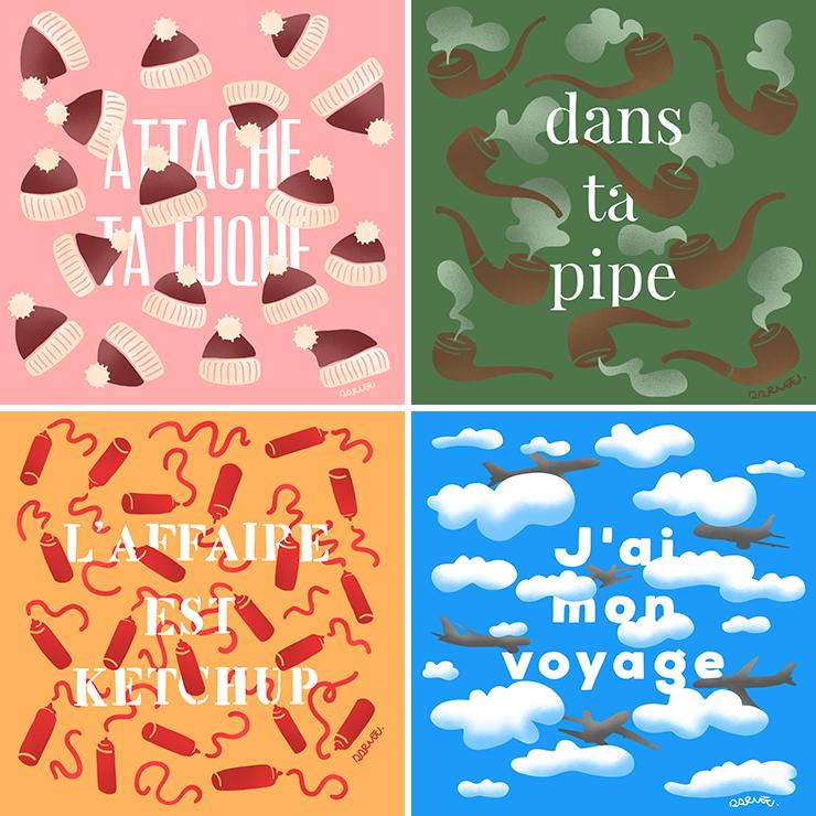 DARVEE - expressions québécoises