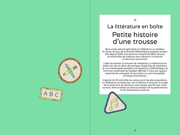 BANQ - Trousse Litterature En Boite