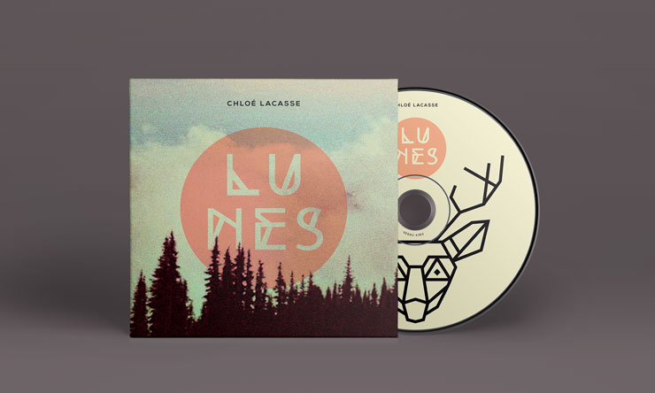 CHLOE LACASSE - CD LUNES - MERCH