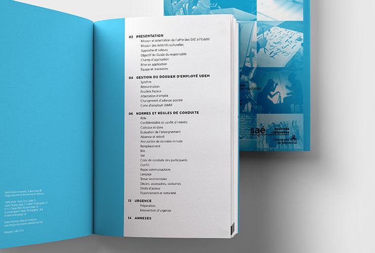 Guide du Responsable Activités culturelles UdeM Université de Montréal