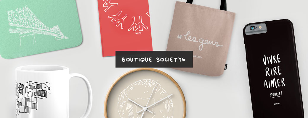 society6 boutique buy products